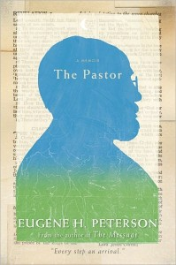 0323 The Pastor Eugene Peterson Message Bible cover