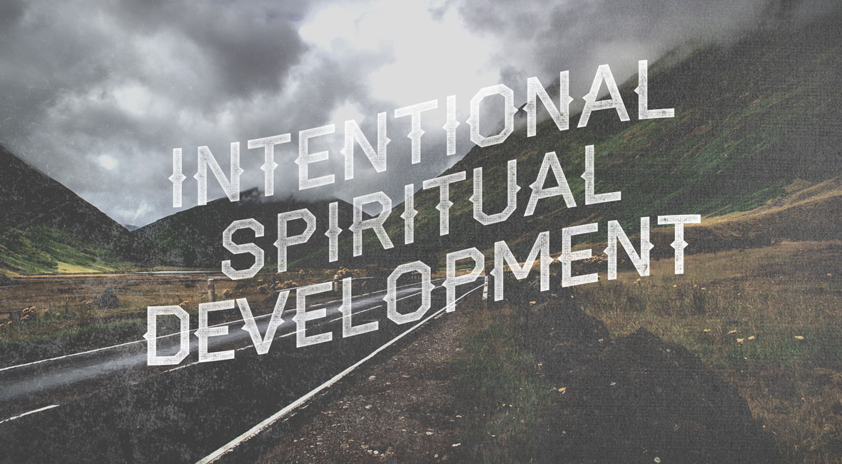 intentional spiritual development