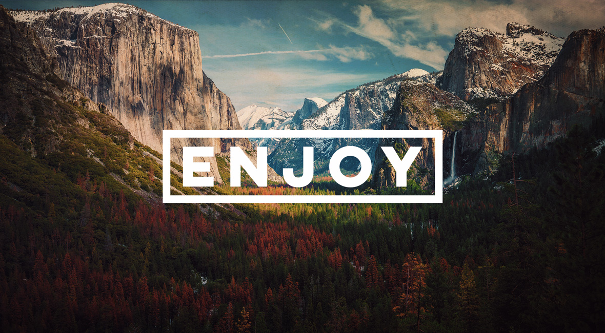 To enjoy God and His world...